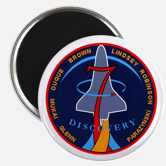 STS-95 Discovery Magnet