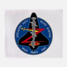 STS-92 Discovery Throw Blanket