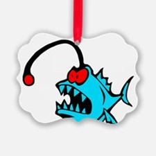 Lantern fish, angler fish 3  Ornament