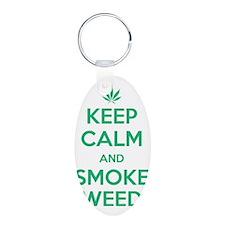 Keep Calm and Smoke Weed Keychains