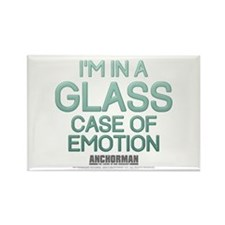 Glass Case of Emotion Rectangle Magnet