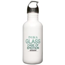 Glass Case Of Emotion Water Bottle