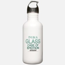 Glass Case Of Emotion Water Bottle