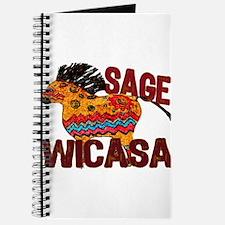 Wicasa the Sage Totem Pony Journal