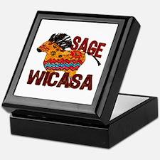 Wicasa the Sage Totem Pony Keepsake Box