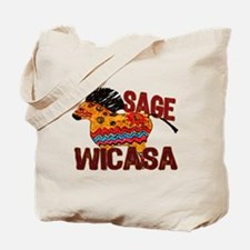 Wicasa the Sage Totem Pony Tote Bag
