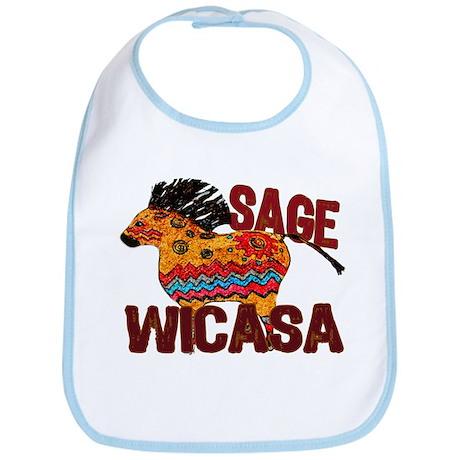 Wicasa the Sage Totem Pony Bib