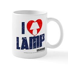 I Love Lamp Small Mug