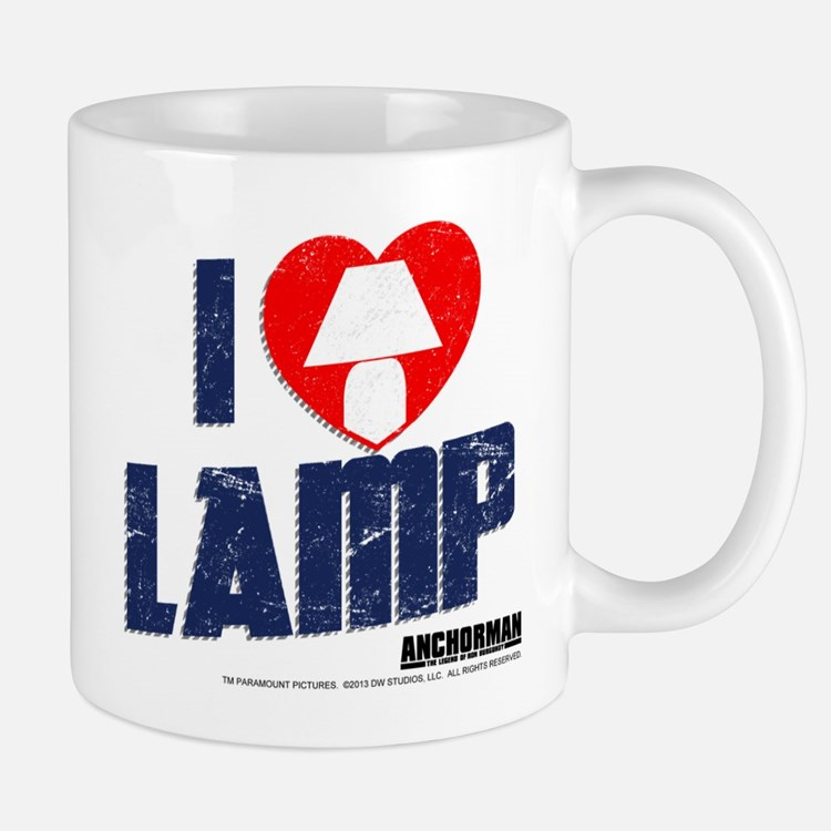 I Love Lamp Small Small Mug