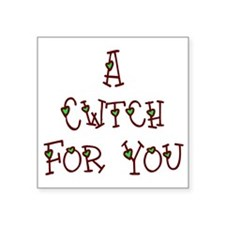 "A Cwtch Square Sticker 3"" x 3"""
