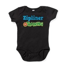Zipliner in Training Baby Bodysuit