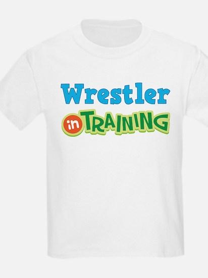 Wrestler in Training T-Shirt