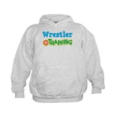 Wrestler in Training Hoodie