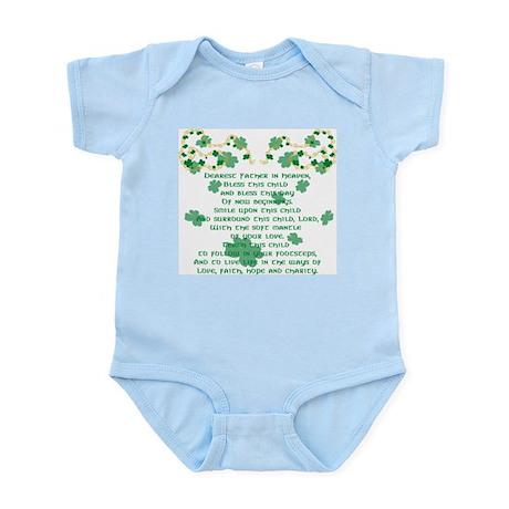 Irish Christening Prayer Infant Bodysuit