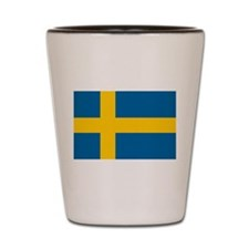 Swedish Flag Shot Glass
