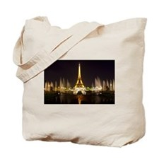 A Night In Paris Tote Bag