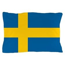 Swedish Flag Pillow Case