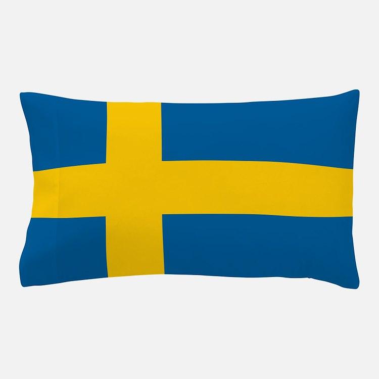 Swedish Flag Pillow Case