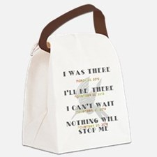 Hunger Games Movie Dates Canvas Lunch Bag