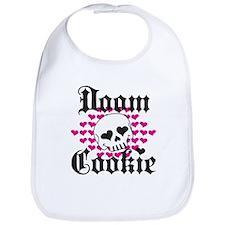 Doom Cookie Hearts Bib