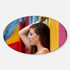 Portrait Of A Woman Decal