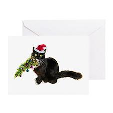 Cat Christmas Tree Greeting Cards (Pk of 20)