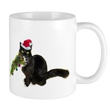 Cat Christmas Tree Mug