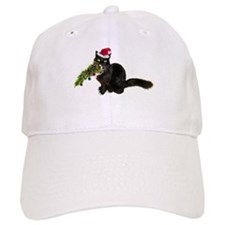 Cat Christmas Tree Baseball Cap