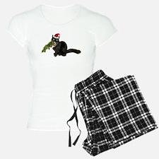 Cat Christmas Tree Pajamas