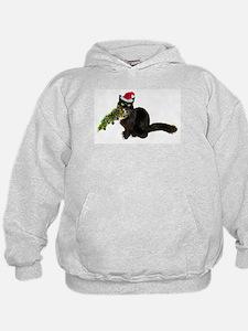 Cat Christmas Tree Hoodie