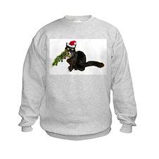 Cat Christmas Tree Sweatshirt