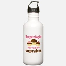 Funny Herpetologist Water Bottle