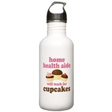 Funny Home Health Aide Water Bottle