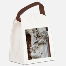 dragon-fighter  Canvas Lunch Bag