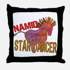 Totem Pony Namid the Star Dancer Throw Pillow
