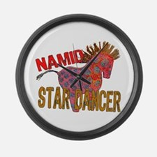 Totem Pony Namid the Star Dancer Large Wall Clock