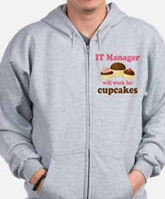 Funny IT Manager Zip Hoodie