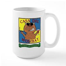 Casa Del Wombat Mugs