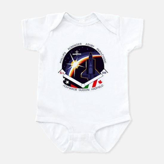 STS-100 Endeavour Infant Bodysuit