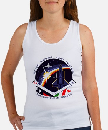 STS-100 Endeavour Women's Tank Top