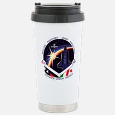 STS-100 Endeavour Stainless Steel Travel Mug