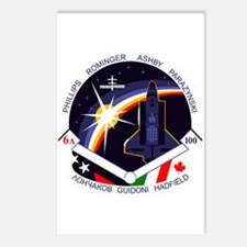 STS-100 Endeavour Postcards (Package of 8)