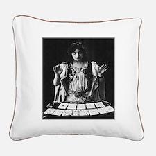 Tarot Square Canvas Pillow