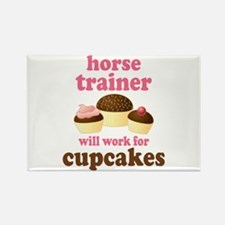 Funny Horse Trainer Rectangle Magnet