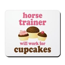Funny Horse Trainer Mousepad