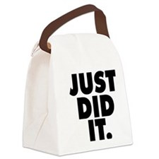 Just did it Canvas Lunch Bag