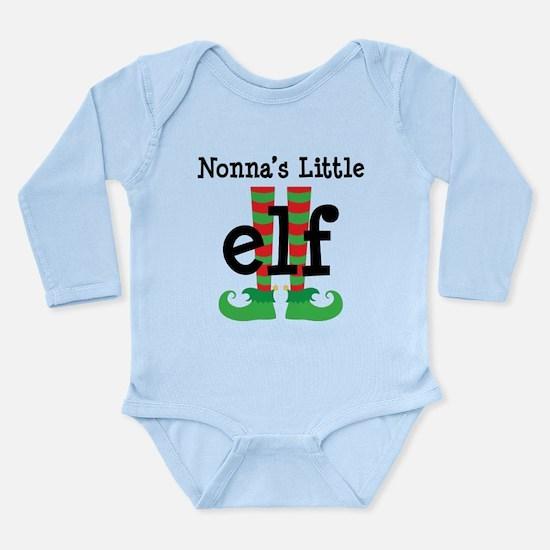 Nonnas's Little Elf Onesie Romper Suit