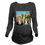 Joes Stone Crab Long Sleeve Maternity T-Shirt