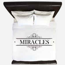 Miracles in Calligraphy King Duvet