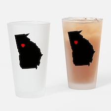 Home State - Georgia Drinking Glass